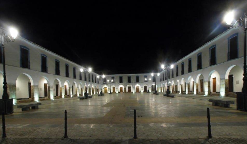 Iluminación exterior en Berja