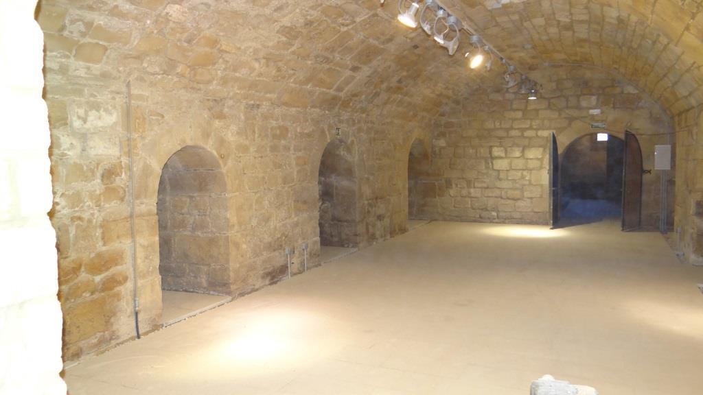 Adecuación sótanos del Palacio Vázquez de Molina, Úbeda