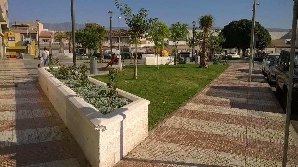 Acondicionamiento plaza roma y san pedro vialterra for Oficinas inss madrid