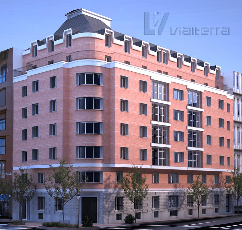 Vialterra adjudicataria de las obras de Rehabilitación y Construcción de la Nueva Residencia de Estudiantes en la C/Don Ramón de la Cruz 37 en Madrid