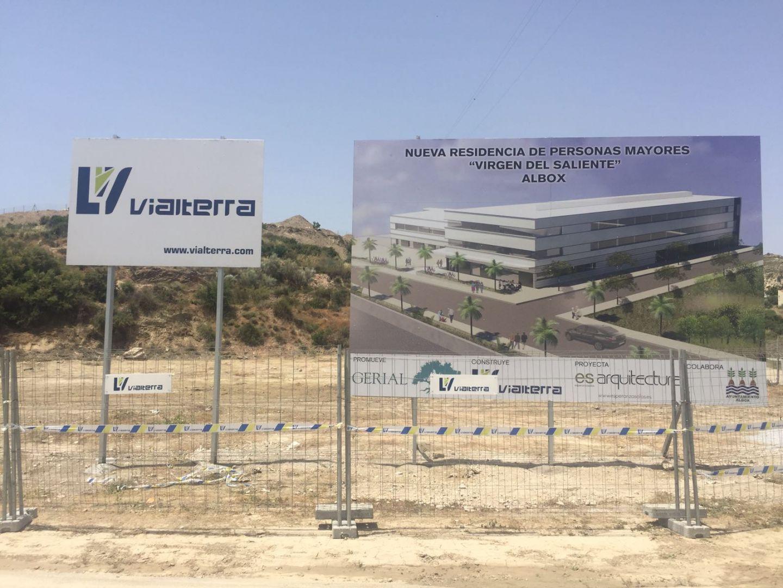 Vialterra Infraestructuras adjudicataria de la Residencia Geriatrica Virgen del Saliente en Albox