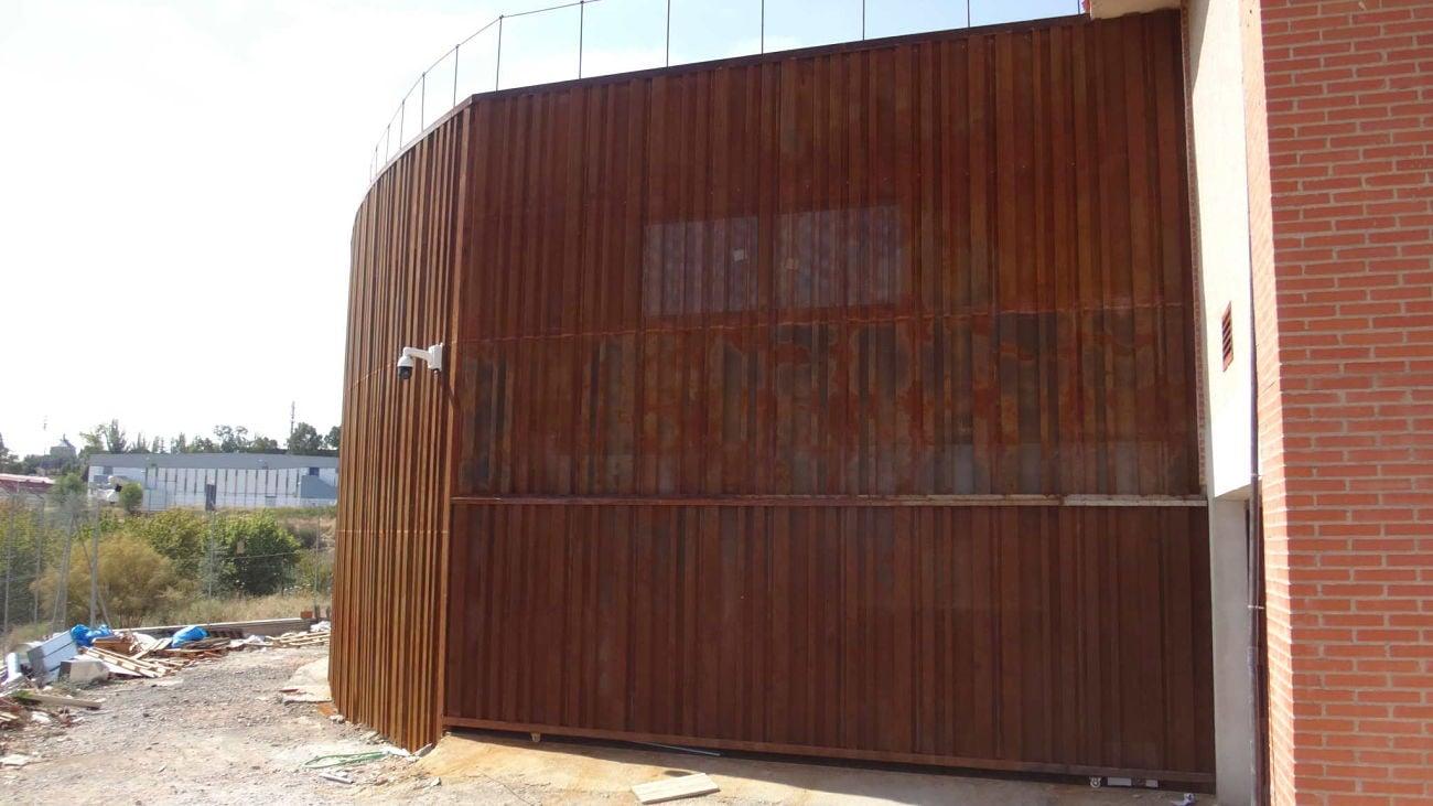 Vialterra construye el pabellón para área de Sanidad en Toledo