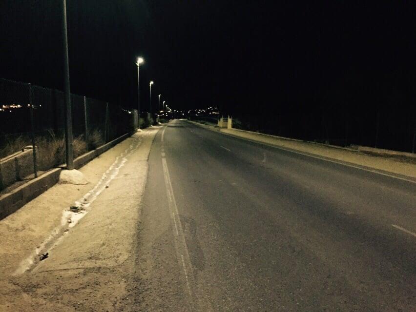 VIALTERRA comienza las obras del Servicio Integral de Iluminación exterior del Municipio de Berja