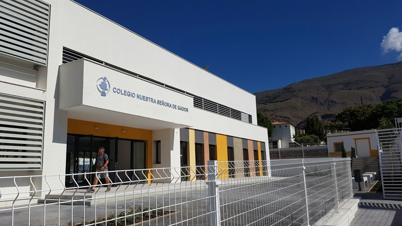 Reforma y ampliación del Colegio Nuestra Señora de Gádor. Berja