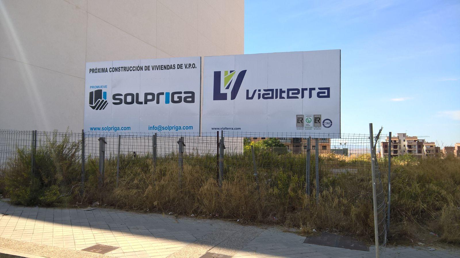 VIALTERRA INFRAESTRUCTURAS CONSTRUIRÁ 82 VIVIENDAS EN LA CAPITAL GRANADINA