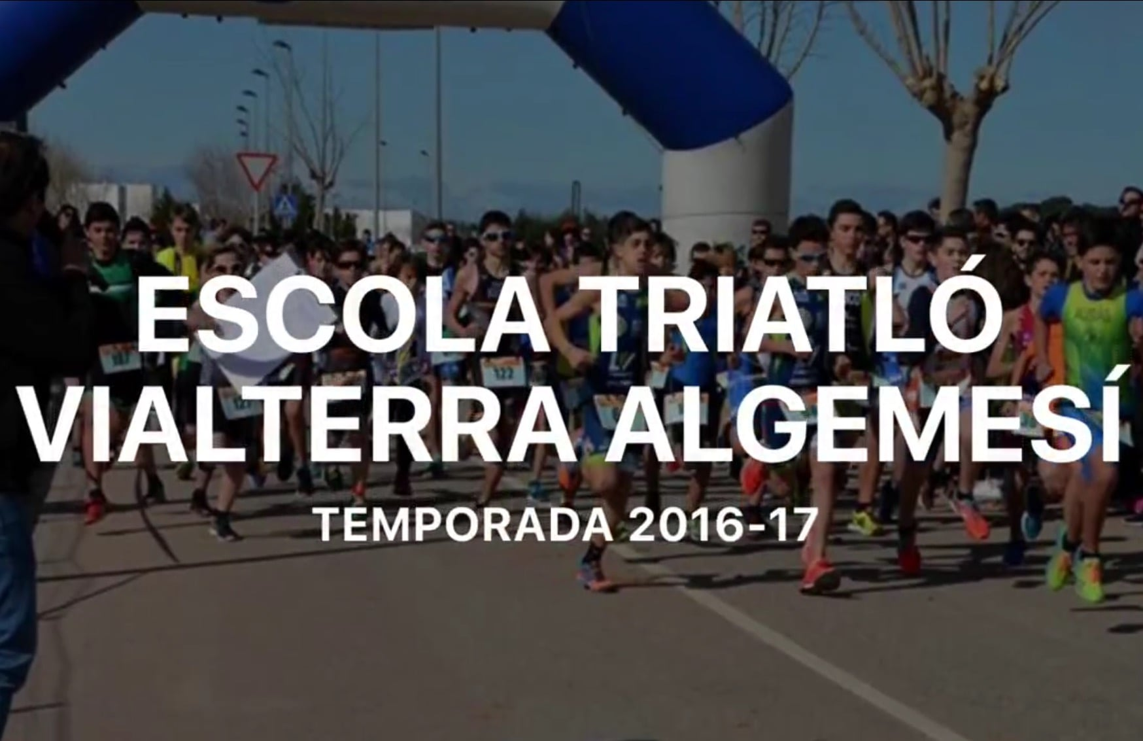 Escuela de Triatlón Vialterra Algemesí 2016-2017