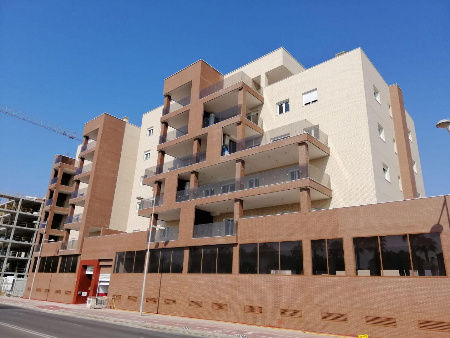 Residencial Marina de Amelto. 29 viviendas garajes y trasteros en la Vega de Acá de Almería