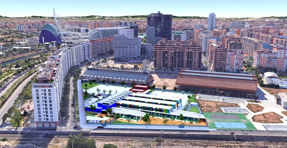 Vialterra Infraestructuras adjudicataria del nuevo CEIP 103 en Valencia