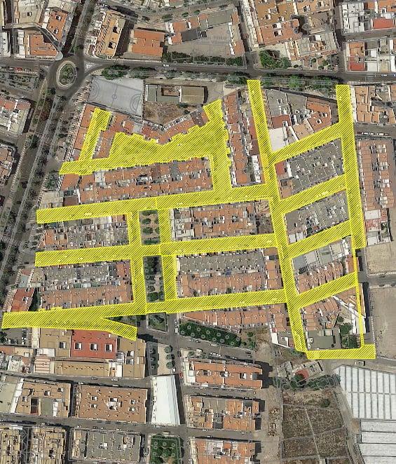 Mejora de la Red Viaria Del Parador: en Roquetas de Mar. Almería