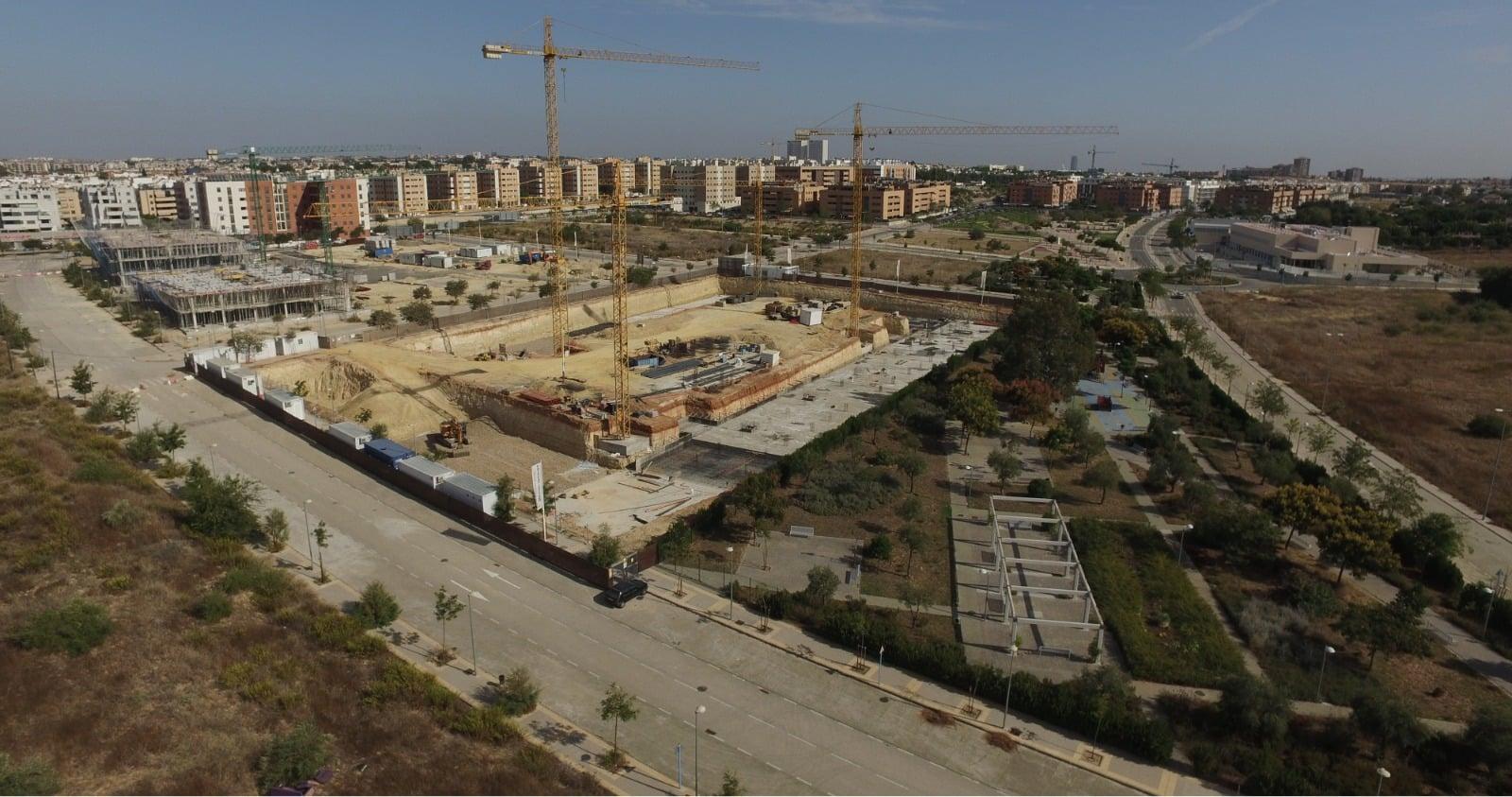 Construccion de viviendas en Mairena del Aljarafe para Neinor Homes