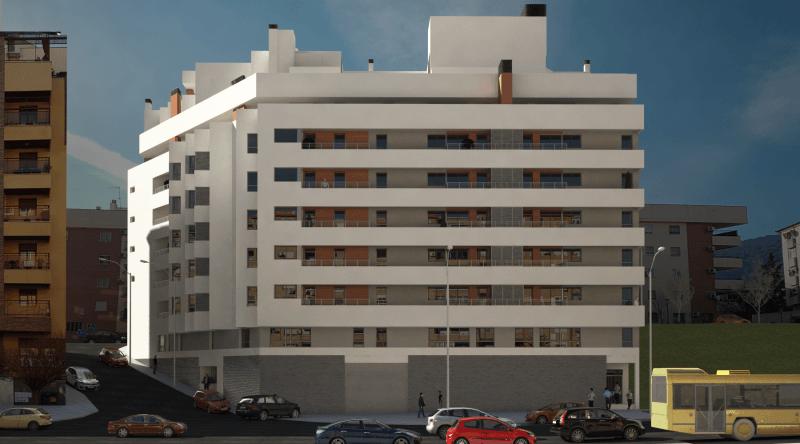 Residencial Santa Catalina – 56 viviendas, garajes y trasteros en Jaén para Solvia
