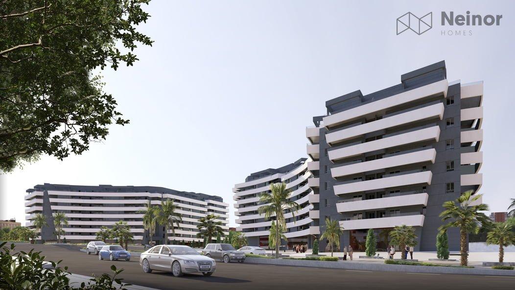 Vialterra construye 308 viviendas en Málaga para Neinor Homes