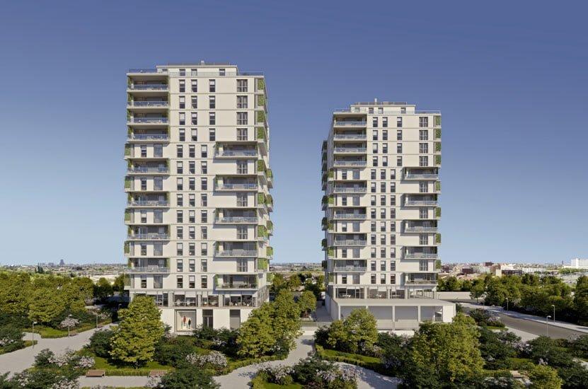 Constructora de Residencial Torres. 120 viviendas en Valencia