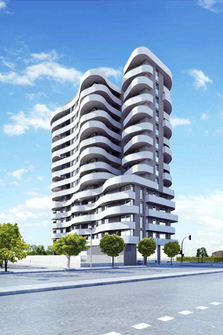 Vialterra construye el residencial Malilla Parque en Valencia