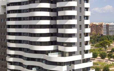Residencial Malilla Parque. 56 viviendas en Valencia