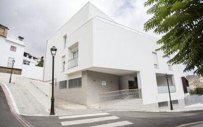 Centro residencial para personas mayores y aparcamiento en Lanjarón