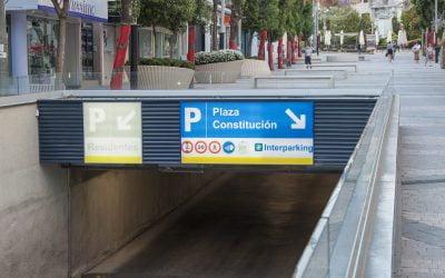 Acceso Parking Jaén