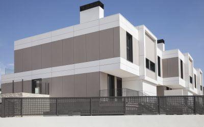 Residencial Etheria. Viviendas en El Cañaveral (Madrid)