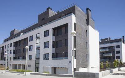 Residencial El Mirador de Valparaíso. 34 viviendas, oficinas, trasteros y garajes en Valladolid