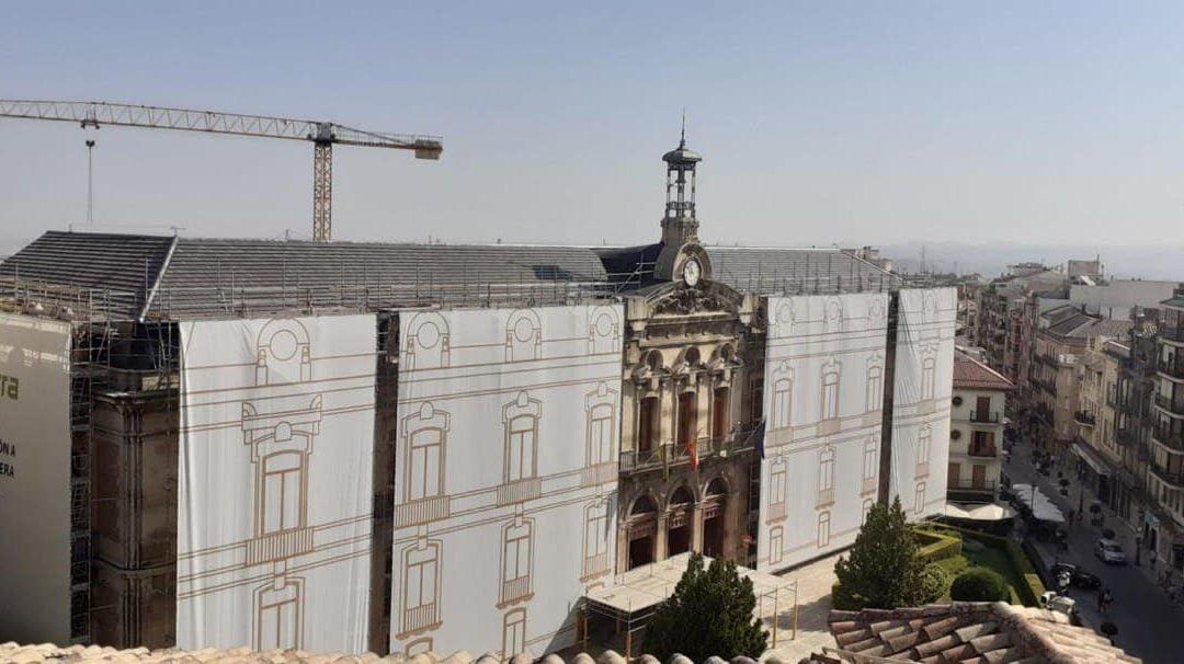 Comienzan las obras en la Diputación Provincial de Jaén