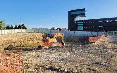 Nuevo edificio de Centros de Investigación y Transferencia Empresarial de la UJA