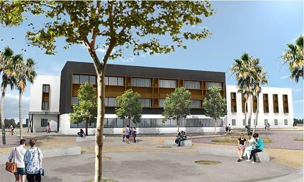Vialterra Infraestructuras, adjudicataria de la obra del Aulario de Informática para la Universidad de Almería