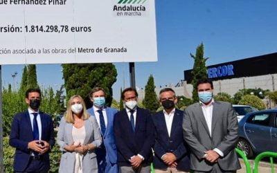 Arranca la obra de remodelación de la Calle Arabial (Granada)