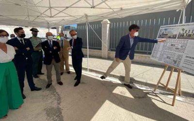Vialterra comienza la construcción del nuevo edificio de la Guardia Civil en el puerto de Málaga