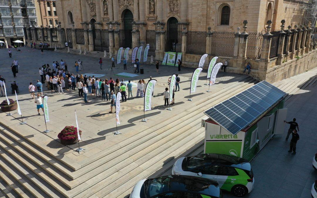 Presentación de la nueva flota de coches eléctricos