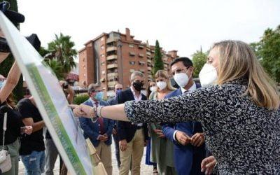 Vialterra comienza las obras del intercambiador sur de Granada en el Paseo del Violón