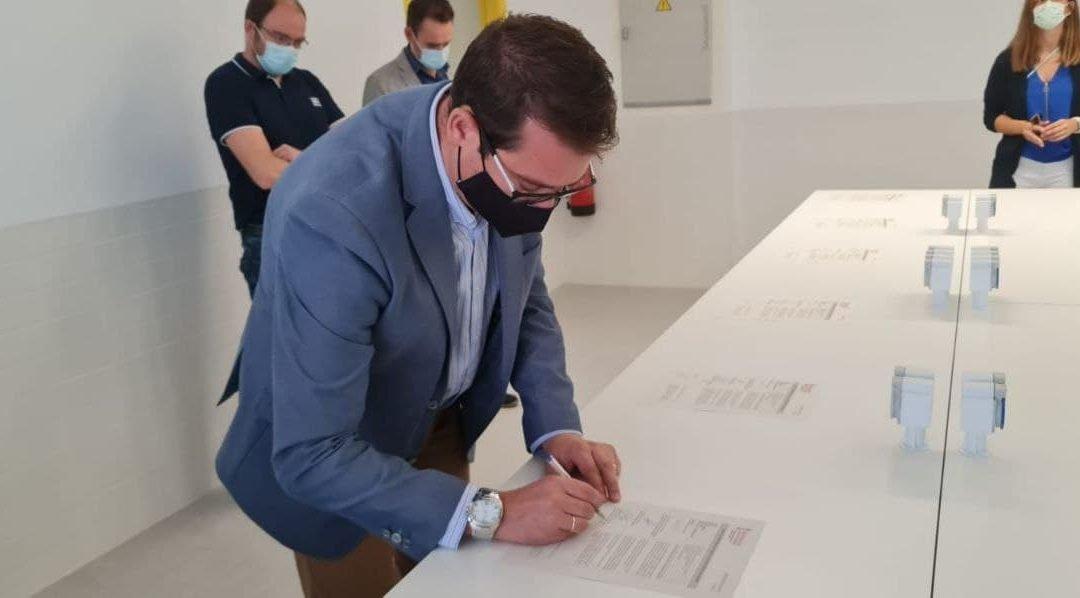Firmada el acta de ocupación del nuevo IES Vicente Verdú en Elche