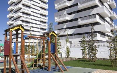 Residencial Tarsia. 130 viviendas con zonas comunes